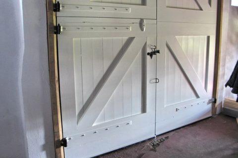 Complete deur met beslag